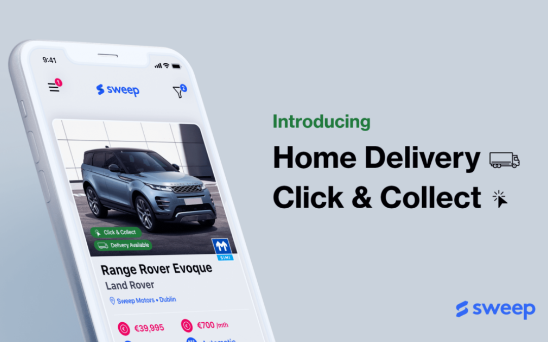 Home Delivery and Click & Collect on Sweep